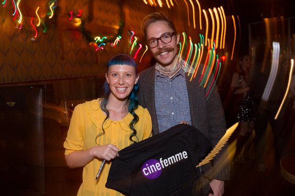 Cinefemme's Holiday Party