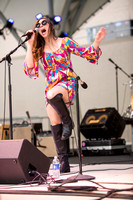 Angela Perley & The Howlin' Moons 7/17/14 Columbus Bicentennial Pavillion - Columbus, Ohio